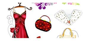 Ball Dress Sticker Sheet
