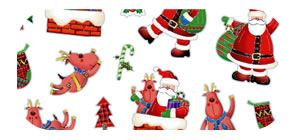 Christmas Sticker Sheet